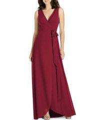 women's jenny packham chiffon wrap gown