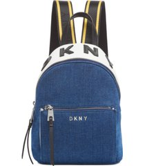 dkny kayla denim backpack