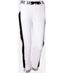 pantalon buzo teen pretina est stripe blanco family shop