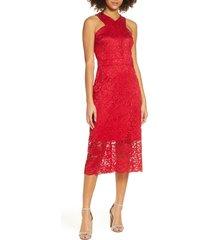 women's sam edelman lace midi dress