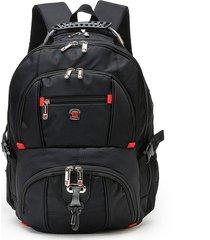 augur 17inch laptop men large capacity outdoor travel nylon oxford zaino casual
