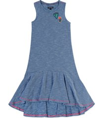 vestido azul-blanco tommy hilfiger