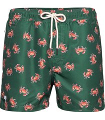oh crab swim shorts badshorts grön oas