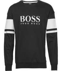 authentic sweatshirt t-shirts long-sleeved svart boss