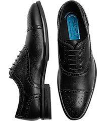 awearness kenneth cole flypod black medallion cap-toe oxford