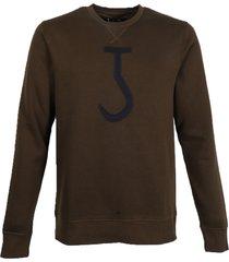 butcher of blue sweatshirt 1923006 big hook crew groen