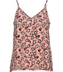 cleo top t-shirts & tops sleeveless rosa twist & tango
