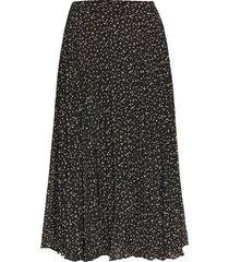 della skirt knälång kjol svart second female