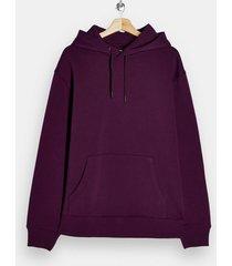 mens dark purple classic hoodie