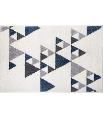 dywan dekoracyjny triangles blue