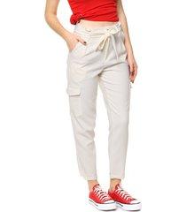 pantalón  blanco tramps gigi