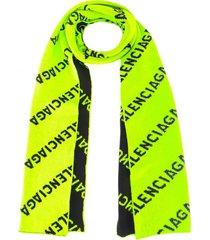 balenciaga scarf