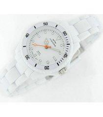 reloj blanco montreal