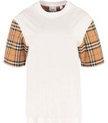 burberry stretch cotton t-shirt
