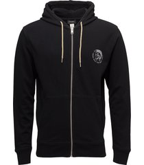 umlt-brandon-z sweat-shirt sweat-shirts & hoodies hoodies zwart diesel men