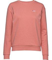 women effie crew sweat sweat-shirt tröja rosa fila