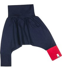 spodnie mini mini - granat + czerwony