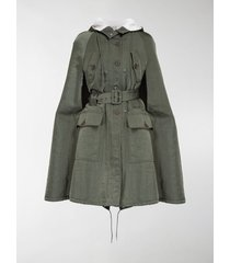 miu miu technical military cape