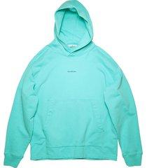 classic tonal logo cotton hoodie