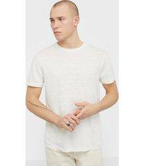 j lindeberg coma-clean linen t-shirts & linnen cloud