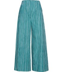 kavuta ristipiccolo trousers vida byxor blå marimekko
