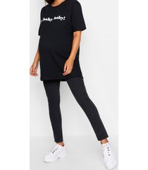 maternity over the bump jegging, black