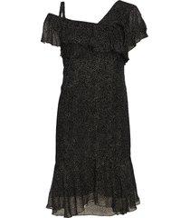 dress korte jurk zwart valerie