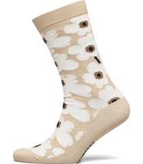 hieta unikko socks lingerie hosiery socks beige marimekko