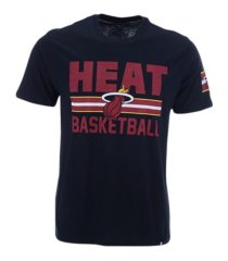 '47 brand men's miami heat half court super rival t-shirt