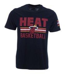 '47 brand men's miami heat half court super rival t-shirt