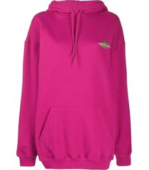 pink over-sized hoodie