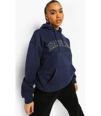 gelicenseerde harvard hoodie, navy