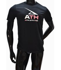 ***camiseta dry fit-negro- athletic air m