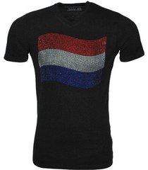 new republic koningsdag t-shirt - nederlandse vlag strass stenen
