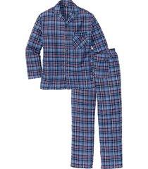 pigiama ampio in flanella (rosso) - bpc bonprix collection