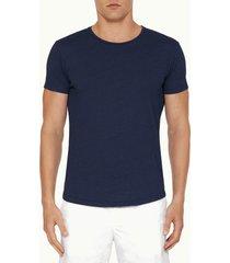 orlebar brown men's crewneck t-shirt - denim pigment - xl