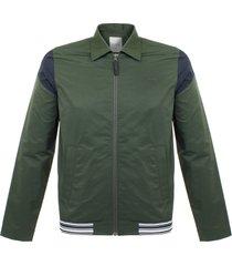 wood wood charles dark green jacket 11715101