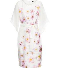 abito con maniche in chiffon (bianco) - bodyflirt