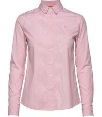 w gale striped shirt långärmad skjorta rosa sail racing