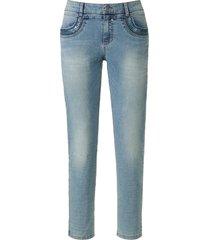 enkellange jeans model grace pailletten van glücksmoment denim