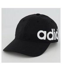boné adidas baseball bold preto