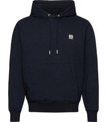 s-girk-hood-k21 sweat-shirt hoodie trui blauw diesel men