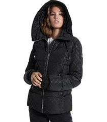chaqueta ls nataly puffer jacket negro guess