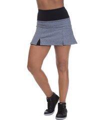 shorts saia fitness miss blessed premium tênis cinza