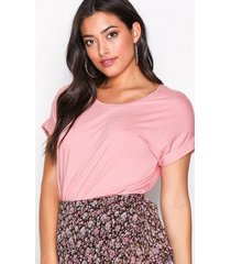 only onlmoster s/s o-neck top noos jrs t-shirts ljus rosa