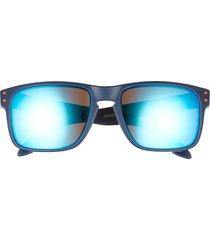 oakley holbrook 57mm sunglasses in matte navy at nordstrom