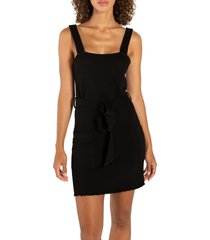 women's n:philanthropy retro jumper dress, size x-large - black