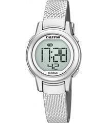 reloj casual gris calypso