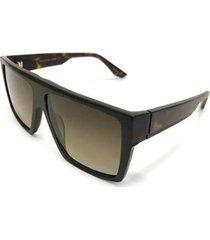óculos de sol evoke reverse g21p turtle matte gold masculino