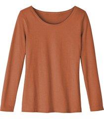 shirt met ronde hals van bio-katoen, terra 44